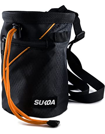 1616d5fb0090 Sukoa Chalk Bag with Quick-Clip Belt and 2 Large Zippered Pockets