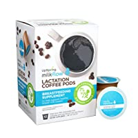 Milkflow Lactation Supplement Coffee Pods with Fenugreek and Blessed Thistle by...