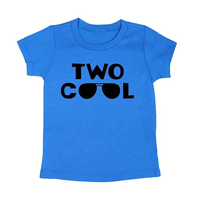 Olive Loves Apple 2nd Birthday Shirt Boys Two Cool For Light Blue