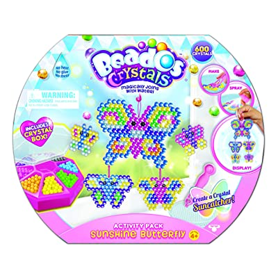 Beados Crystals S4 Activity Pack Sunshine Butterfly: Toys & Games