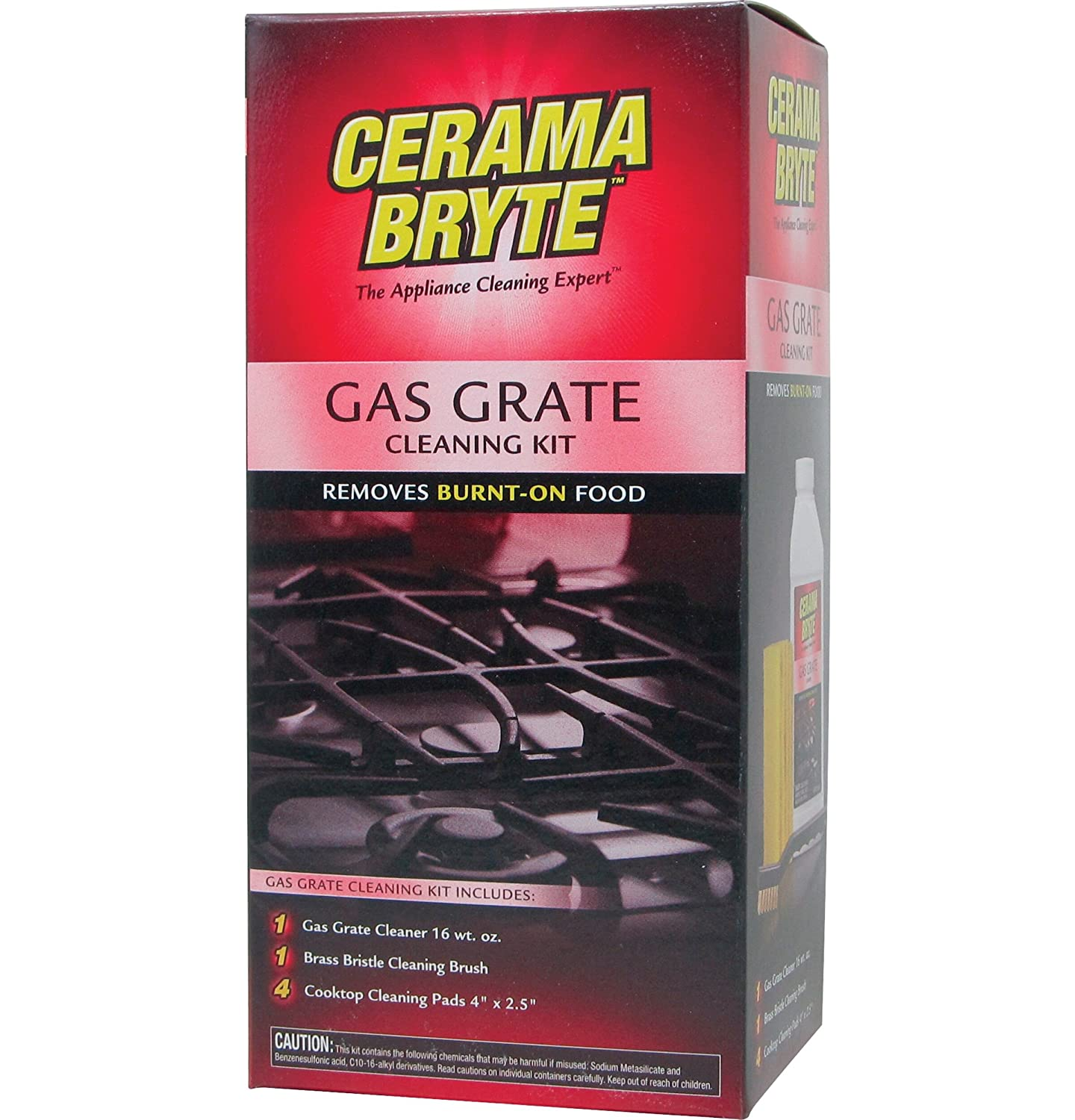 General Electric WX10X10021 Cerama Bryte Gas Grate Cleaning Kit