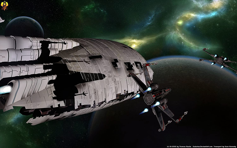 Posterhouzz Movie Star Wars Rebel Transport X Wing Starfighter Sci