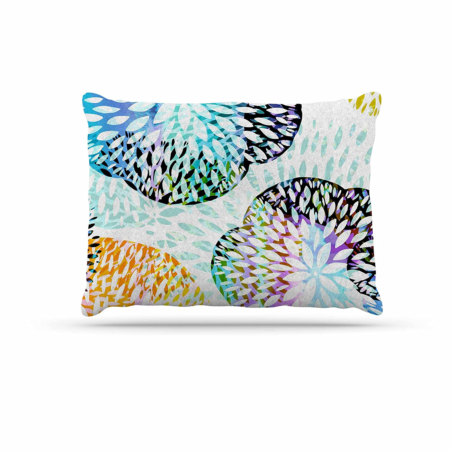 KESS InHouse Jessica Wilde Tropical Flora Pastel Abstract Dog Bed, 30  x 40