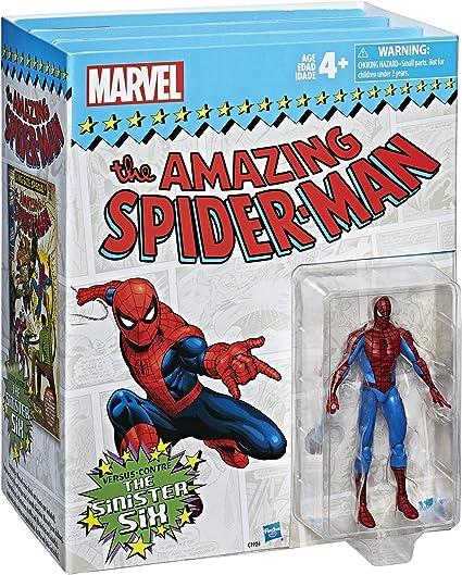 "MARVEL LEGENDS 3.75/"" EXCLUSIVE SPIDER-MAN vs THE SINISTER SIX BOX SET"