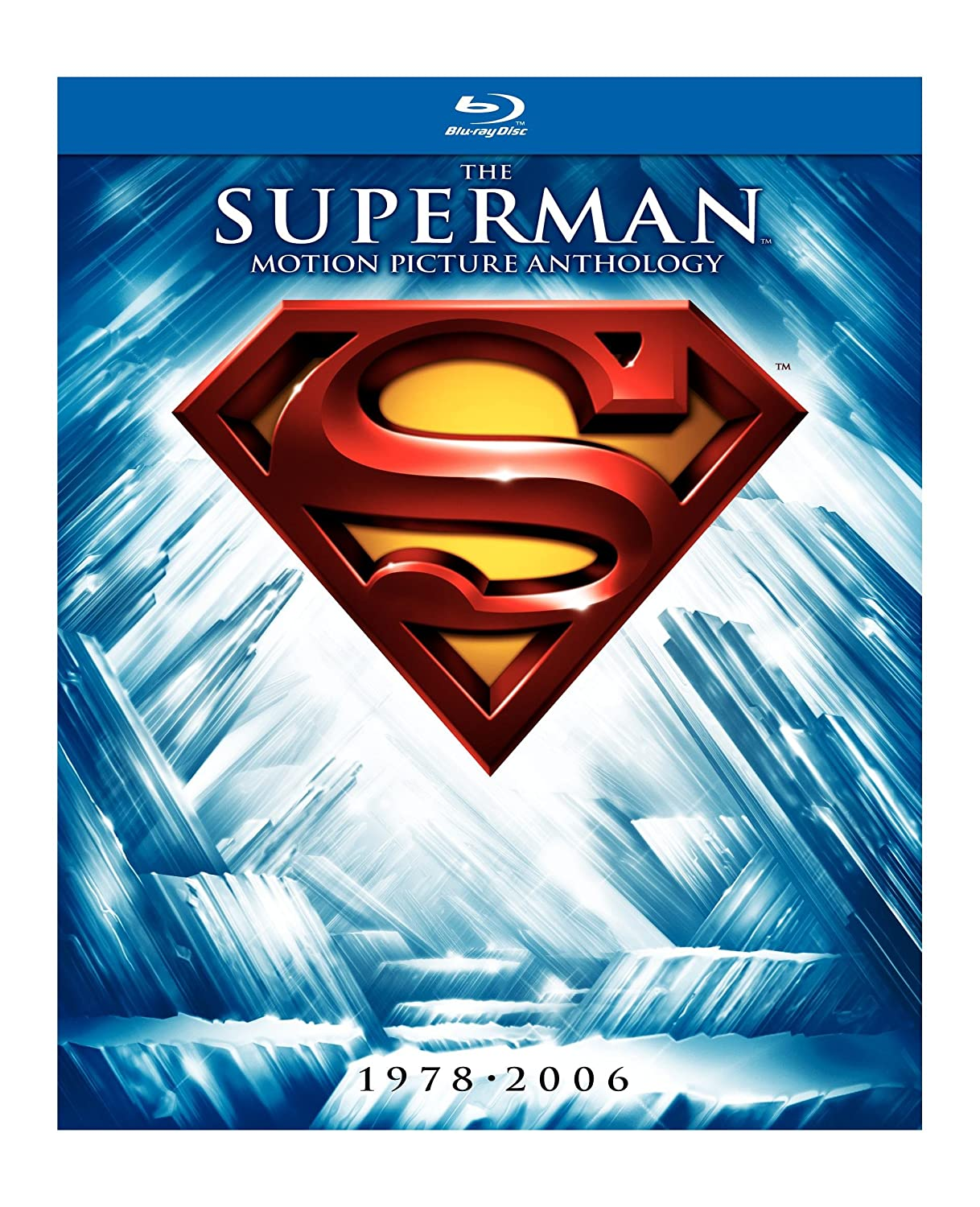 Amazoncom The Superman Motion Picture Anthology 19782006 Blu