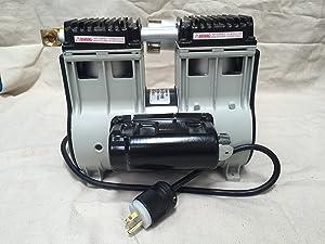 Welch Vacuum 2585B-01 WOB-L Dry Pump, Single-Phase, 115VAC, 60Hz