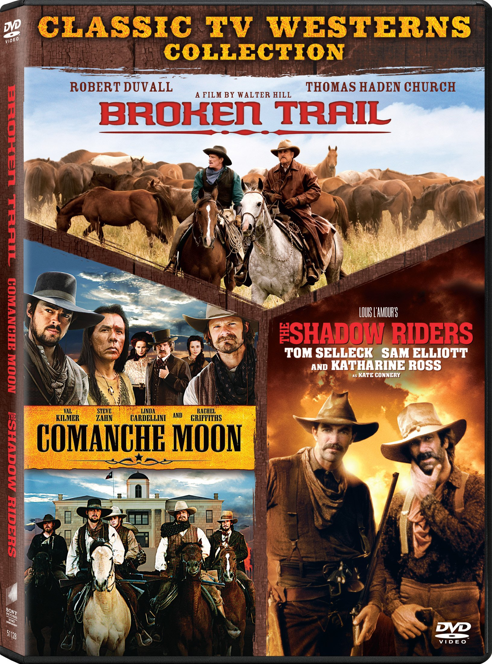 Broken Trail/ Comanche Moon/ The Shadow Riders (Full Frame, Boxed Set, Widescreen, AC-3, Dolby)