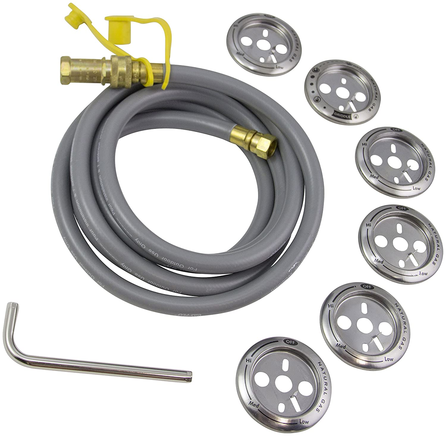 Char-Broil 4584609A Natural Gas Conversion Kit Charbroil