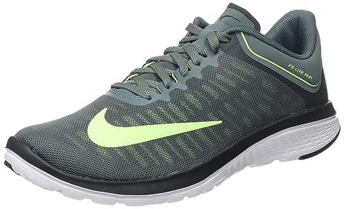 WORN NIKE FS Lite Run 2 Mens 13 Black Lightweight Running Sneakers Shoes