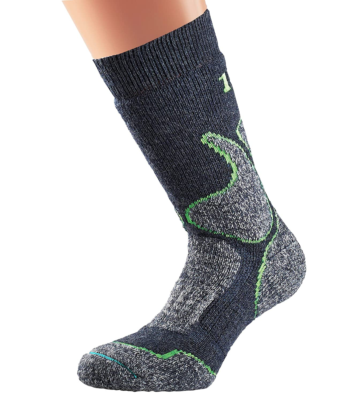 Medium//Size UK 6-8.5 1000 Mile Mens 4 Season Walking Socks-Slate