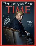 Donald Trump Time Mag Autographed Preprint