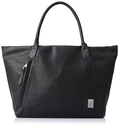 8246f3f5d09e Puma Hazard Women s Tote Bag (Black)  Amazon.in  Shoes   Handbags