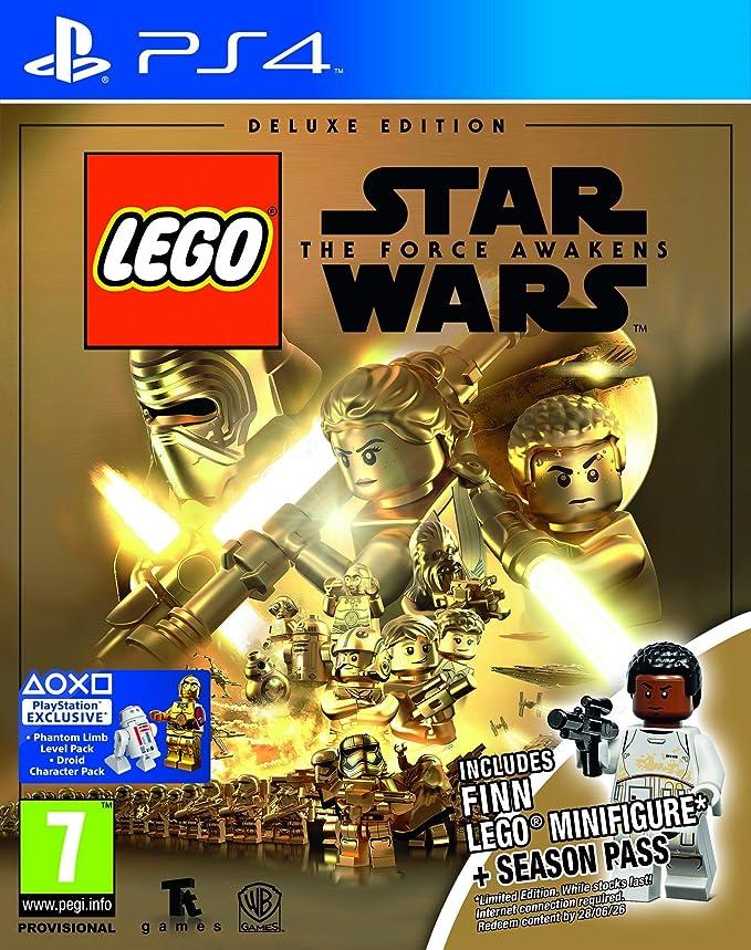 Juego para PS4 - Lego Star Wars – El Despertar de la Fuerza (edición Deluxe Limitada): Amazon.es: Electrónica