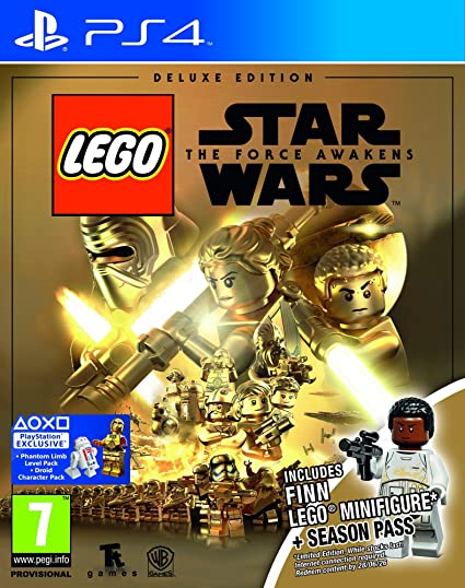 Juego Para Ps4 Lego Star Wars El Despertar De La Fuerza Edicion