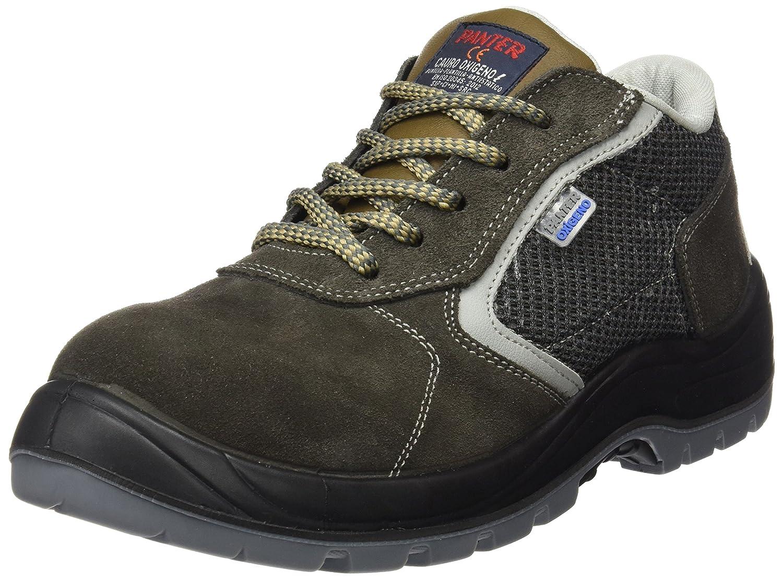 ee09d2e5b Panter M127658 - Zapato seguridad cauro oxigeno piel natural talla 42:  Amazon.es: Zapatos y complementos