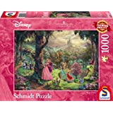 Schmidt Spiele 59474 - Thomas Kinkade, Disney Dornröschen, Puzzle, 1000 teile