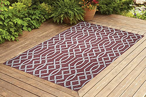 Benissimo Indoor Outdoor Rug Ribon Collection Non-Skid