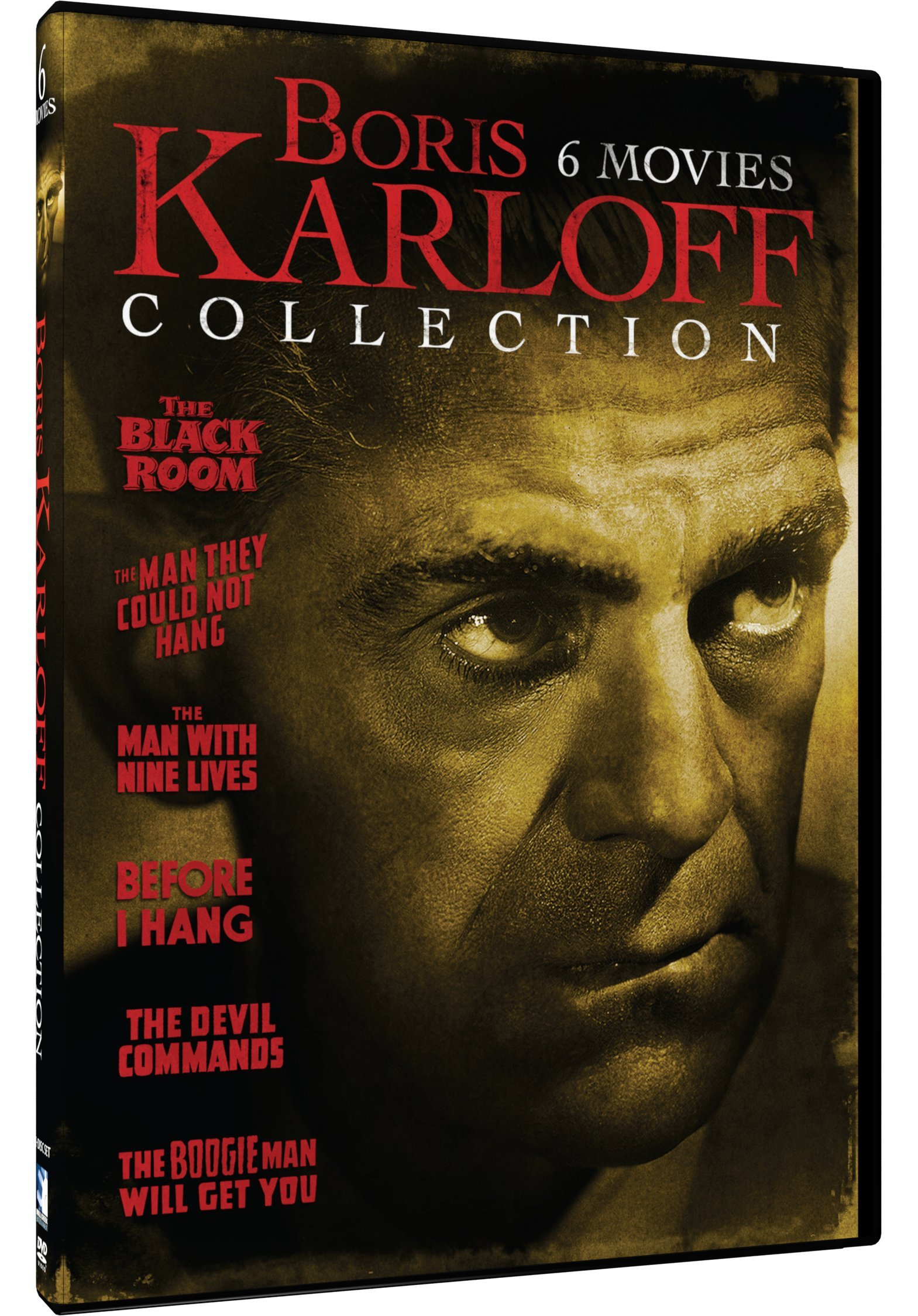 DVD : Boris Karloff Collection - 6 Movie Pack (2 Pack, 2 Disc)
