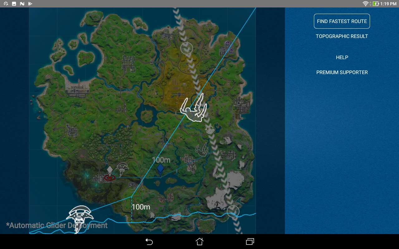 Fortnite Map Bus Path Amazon Com Copilot Landing Glider And Rotation Assistant For Fortnite Appstore For Android