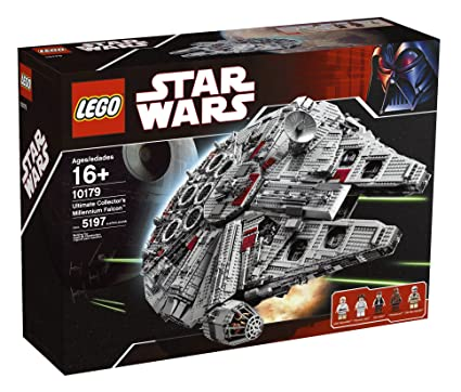 Amazoncom Lego Star Wars Ultimate Collectors Millennium Falcon