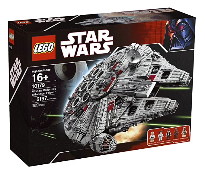 Lego 10179 Construction Game Star Wars Millennium Falcon