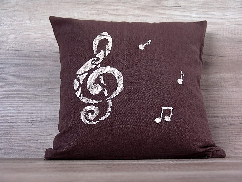 Personalised Guitar Music Rock Band Novelty Cushion Cover w//Insert