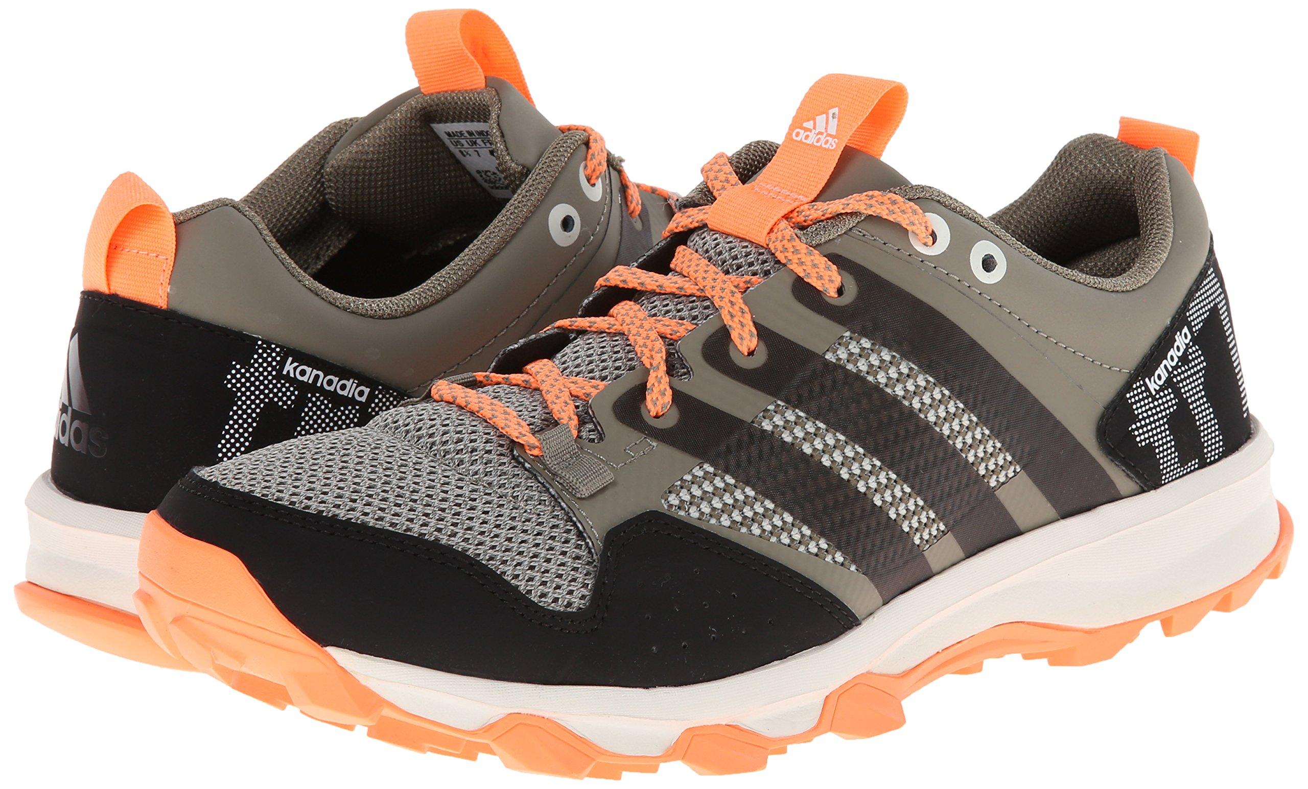 adidas Performance Women's Kanadia 7 TR W Trail Running Shoe, Clay/Chalk/Flash Orange, 7 M US by adidas (Image #6)