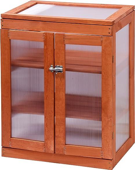 Dobar Mini Gewachshaus Mit Acrylglas Balkon Und Indoor Treibhaus