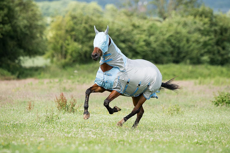 Gallop Couverture et masque de protection contre les mouches tout en un pour cheval 105cm