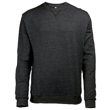 Amazon.com: Awdis Mens Heather Lightweight Crew Neck Sweatshirt ...