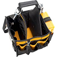 """Custom Leathercraft DG5582 11"""" Electrical and Maintenance Tool Carrier with Parts Tray"""