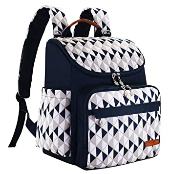 ecb9dbcc44262 Diaper Bag Backpack with Baby Stroller Straps by HYBLOM, Stylish Travel  Designer and Organizer for