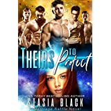 Theirs To Protect: a Reverse Harem Romance (Marriage Raffle Book 1)