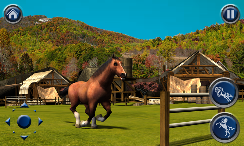 horse simulator 3d free horse running jumping simulation game appstore for android. Black Bedroom Furniture Sets. Home Design Ideas