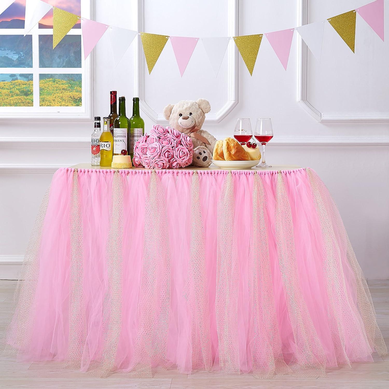 Free Amazon Promo Code 2020 for Handmade Glitter Sparkle Tutu Tulle Table Skirt
