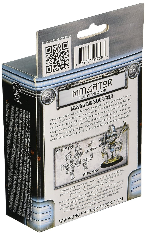 Privateer Press Warmachine Convergence of Cyriss Mitigator Model Kit PIP36021