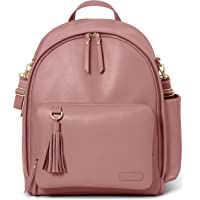 Skip Hop Greenwich Simply Chic Diaper Bag Backpack (Dusty Rose/Gold)