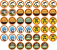 Two Rivers Light Roast Coffee Sampler Pack, Single-Cup Coffee, 40 Count