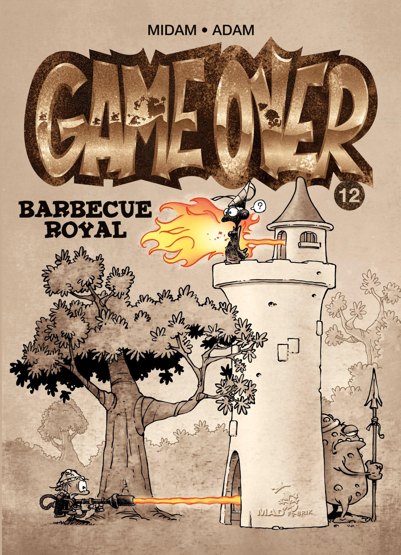 Amazon Com Game Over 12 Barbecue Royal French Edition