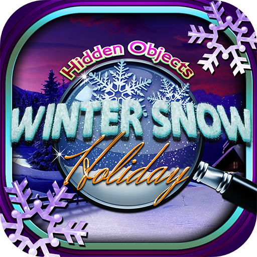 Hidden Objects – Christmas Winter Snow Holiday & Object Time Puzzle Santa Game ()