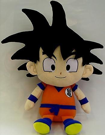 Amazon.com: Dragon Ball Z Reversible Cojín Plush son goku ...