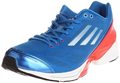 quality design b35e7 0460d ADIDAS adiZero Feather 2 Mens Running Shoes, BlueRed, ...