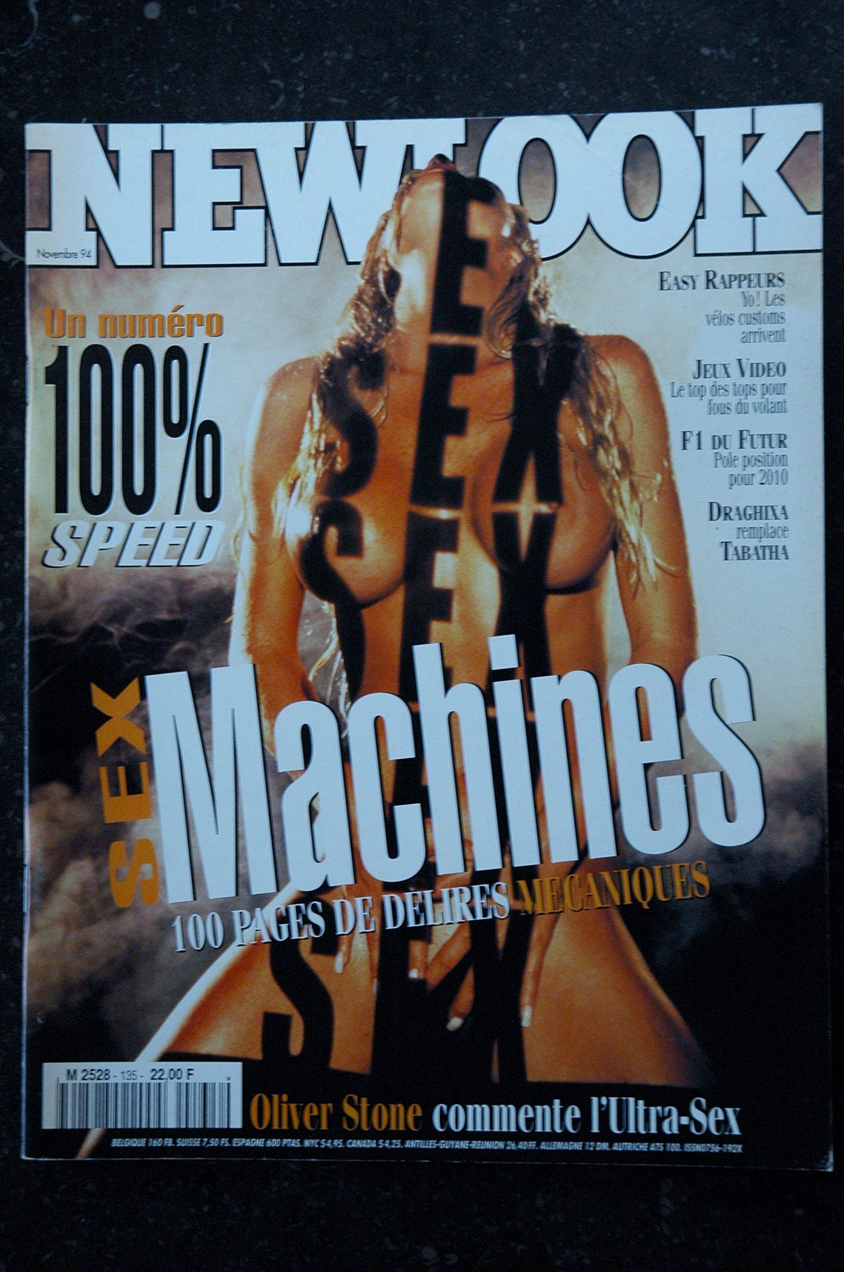 NEWLOOK 135 HARLEY STEPHEN HICKS DRAGHIXA ENTIEREMENT NUE GIRLS NUDES J.  RUTTER Single Issue Magazine – October 31, 1994
