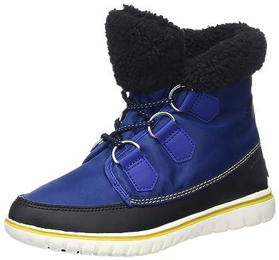 Sorel Cozy Carnival Damen Hohe Sneakers, Grün (Nori/Black), 41.5 EU