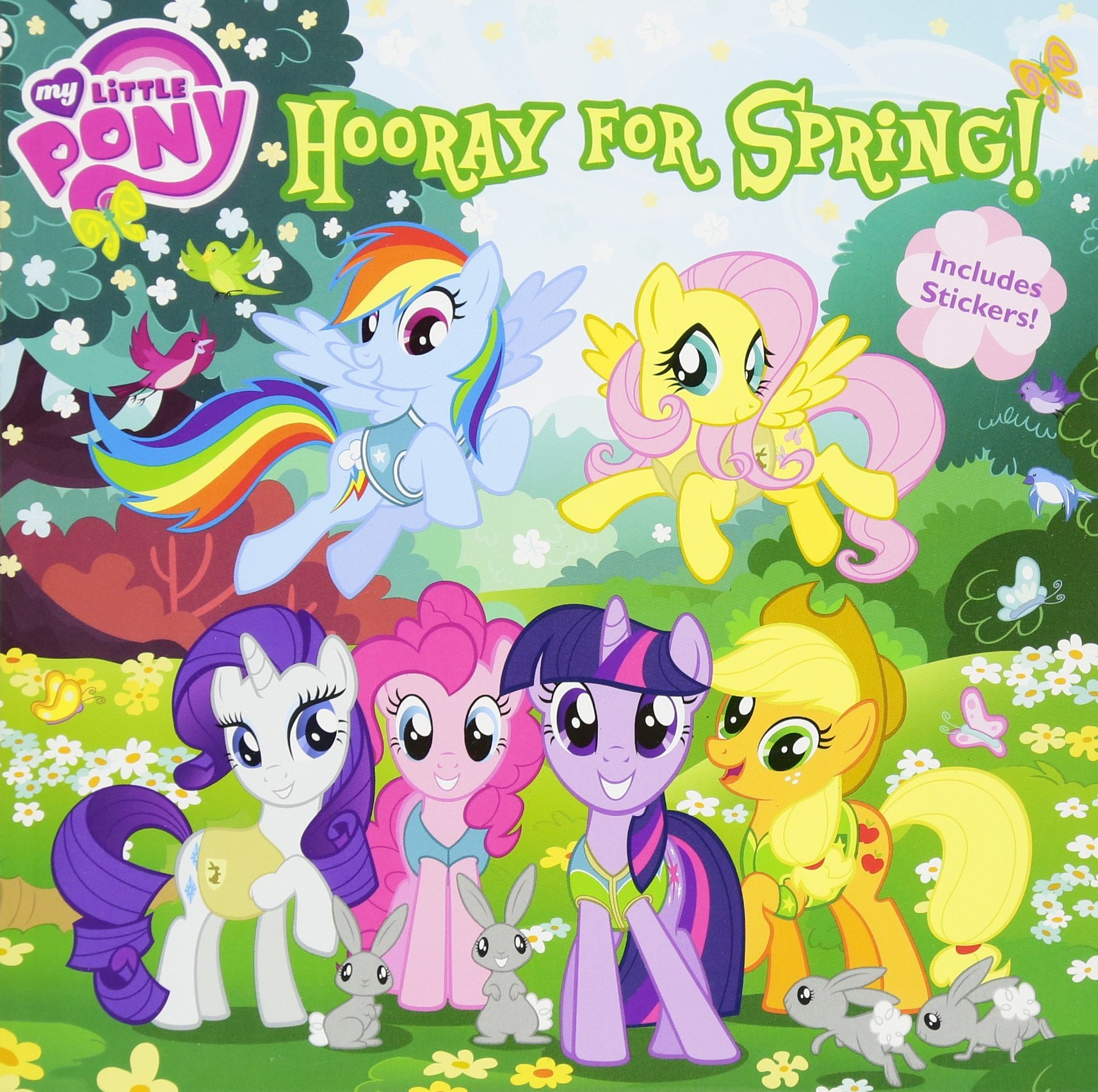 amazon my little pony hooray for spring louise alexander