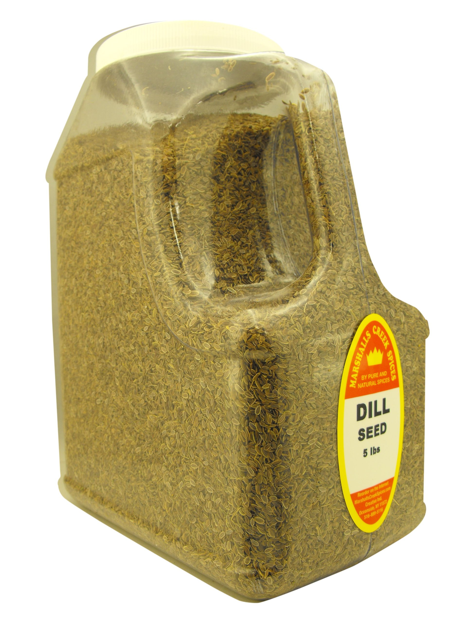 DILL SEED WHOLE 5 LB. RESTAURANT SIZE JUG