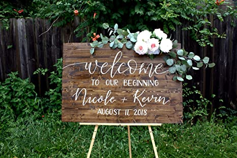 Amazon.com: Avery Carey - Cartel de bienvenida para ...