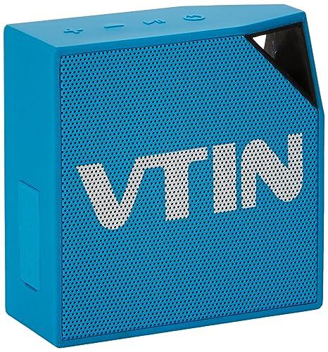 [IP67 impermeable altavoz] VTIN Cuber Bluetooth 4,0 altavoz, 5 W Audio Driver, 8 horas tiempo ...