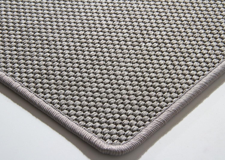 Designer Teppich Modern Viborg Viborg Viborg Küchenteppich in Silber grau, Größe  140x200 cm 64b879