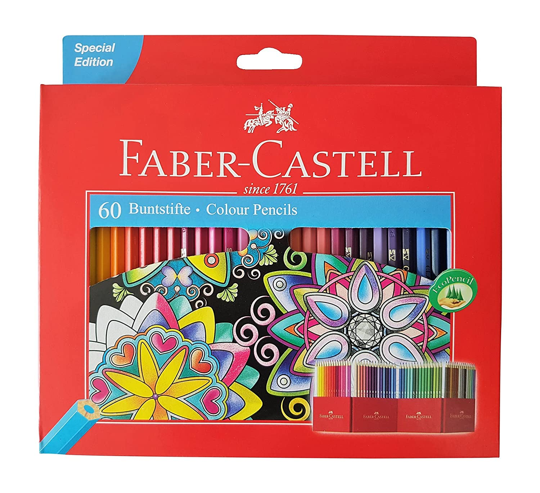 Amazon.com : Faber Castell Premium Color Pencils, 48 Colour ...
